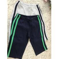 2 calças em moletom - 6 meses - Carter`s