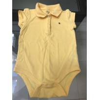 BODY TOMMY AMARELO - 9 a 12 meses - Tommy Hilfiger