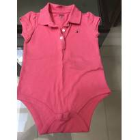 BODY ROSA TOMMY - 9 a 12 meses - Tommy Hilfiger