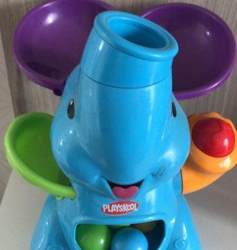 Brinquedo Playskool Elefante Bolinhas Voadoras - Sem faixa etaria - Playskool