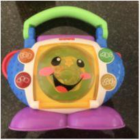 CD Player Aprender e Brincar - Fisher-Price -  - Fisher Price