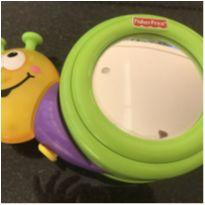 CARACOL MUSICAL FISHER PRICE + BLOQUINHO