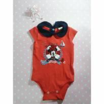 Body menina Minnie Ri happy - 6 a 9 meses - RI HAPPY e Disney