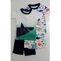 Pijama Carters kit com 2 conjuntos