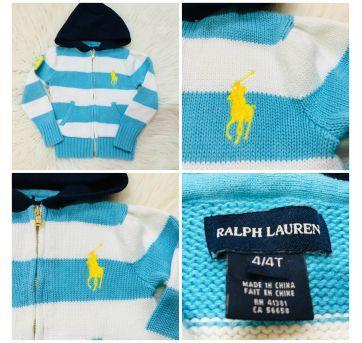 Sueter Ralph Lauren 4t usado 1x - 4 anos - Ralph Lauren