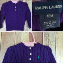 Sueter Ralph Lauren 12m usado - 1 ano - Ralph Lauren