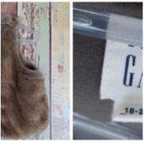 Colete peluciado novo da Gap - 18 a 24 meses - GAP
