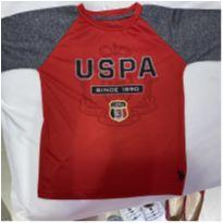 Blusa Tactel US POlo Assn - Tam 5/6 anos - 5 anos - US Polo Assn