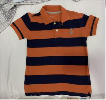 Camisa Polo - GAP kids - Tam: 6/7 anos - 6 anos - GAP