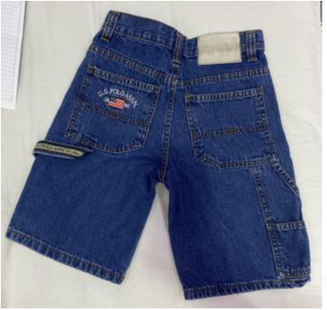 Bermuda Jeans - Tam 8 anos - US Polo Assn - 8 anos - US Polo Assn