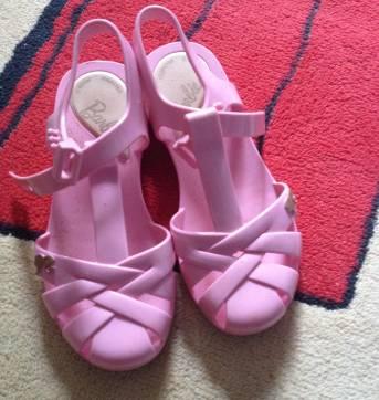 sandalia da barbie - 25 - Mattel