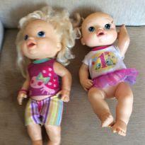Lote com 2 bonecas baby alive - Sem faixa etaria - Hasbro