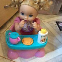 Boneca little mommy q fominha - Sem faixa etaria - Mattel