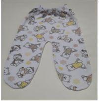 Calça com pé Ursinho - Recém Nascido - ALEGRINHOS BABY