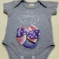 Body da Rainha - 0 a 3 meses - Kid Stok