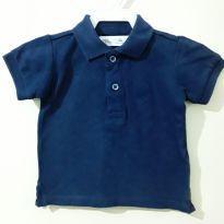 Camiseta Azul Marinho - 3 a 6 meses - Zara Baby