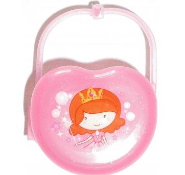 Porta Chupeta com decoração Baby Princess - Plasútil
