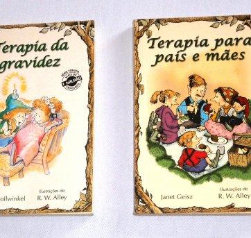 Livros - Terapia da Gravidez    + Terapia para pais e mães ( 2 livros)