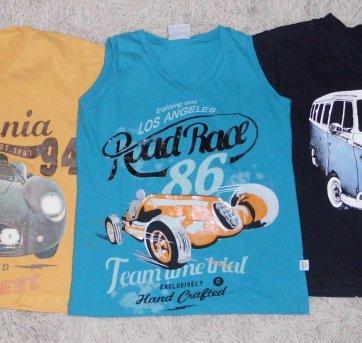 Kit Camisetas - Menino - 3 a 4 anos