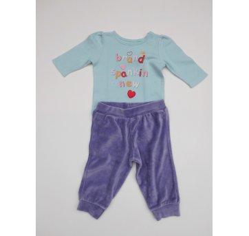 Conjunto Baby GAP- Tamanho 3 meses - 2 peças - Impecável