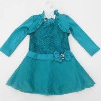 Vestido Festa  Gira Baby - Tamanho 4  - Lindo e Impecável! - 4 anos - GiraBaby