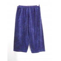 Calça Plush Azul Marinho - 1 ano - Sem marca