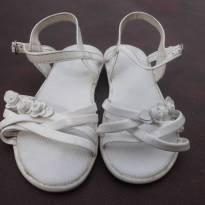 Sandália Branca Pimpolho - Tamanho 24 - 24 - Pimpolho