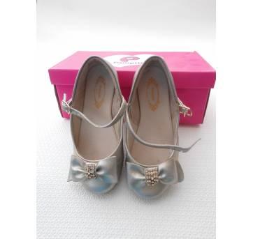 Sapato Pampili  Dourado - Tamanho 27
