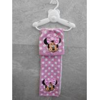 Cachecol e Touca de Lã - Minnie - Disney  -  2 peças