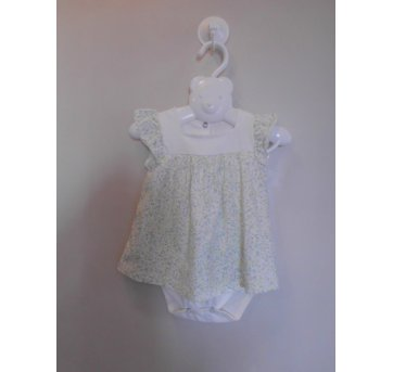 Vestido / Body - Teddy Boom - 3 a 6 meses
