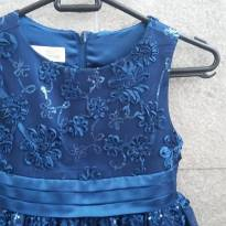 Vestido de Festa - Tamanho 6 - Impecável - LINDO! - 6 anos - Importado