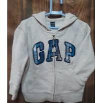 Blusa Moleton com touca - 18 a 24 meses - Baby Gap