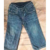 Calça jeans por fora e moletom por dentro - 18 a 24 meses - Baby Gap