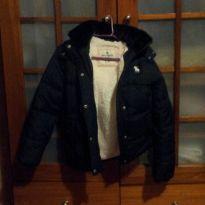 casaco azul escuro da abercrombie original - 10 anos - Abercrombie
