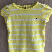 Camisa malha - 3 a 6 meses - Tommy Hilfiger