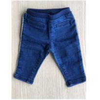 Calça jeans com friso - 3 meses - Carter`s