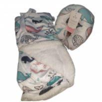 Mantinha c/ almofada de pescoço -  - Sleeper