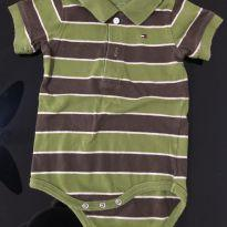 Body Tommy - 3 a 6 meses - Tommy Hilfiger