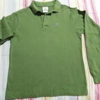 Camisa verde Lacoste - 12 anos - Lacoste