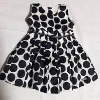 vestido com strass Anjos Chic - 9 a 12 meses - Anjos Chic