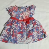vestido estampado - 6 meses - Mundi