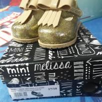Melissa dourada gliter - 17 - Melissa
