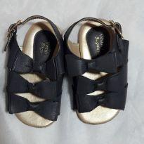 Sandália lacinho - 19 - Sem marca