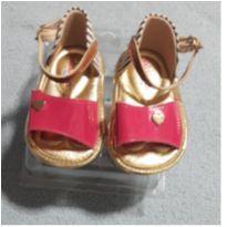 Sandália pink - 15 - Molekinha