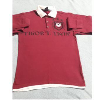 Polo vinho Tigor - 12 anos - Tigor T.  Tigre