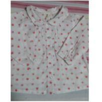 Camisa florzinha - 12 a 18 meses - Teddy Boom