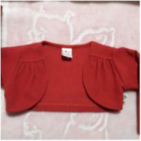 Casaquinho vermelho - 12 a 18 meses - Sem marca