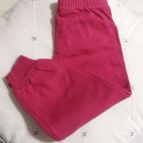 Calça moletinho pink com brinde!! - 12 a 18 meses - Sem marca