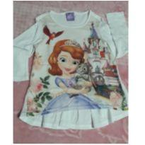 Camisa princesa Sophia - 3 anos - Disney