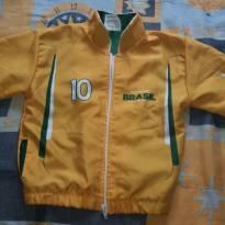 blusa Brasil personalidade Vinicius - 4 anos - Futebol Mania